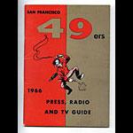 1966 San Francisco 49ers Media Guide