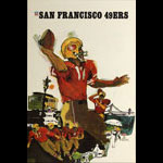Terry Smith San Francisco 49ers 1967 NFL Football Poster