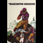 Terry Smith Washington Redskins 1967 NFL Football Poster