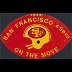 1971 San Francisco 49ers Pocket Schedule