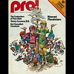 1978 Oakland Raiders vs Detroit Lions Pro Football Program