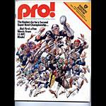 1977 Oakland Raiders vs San Francisco 49ers Program Program