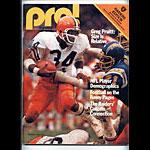 1978 Oakland Raiders vs Houston Oilers Program Program