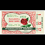 Michigan State v UCLA Pasadena Rose Bowl 1956 East West Football Football Ticket