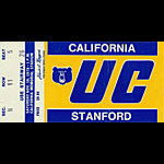 1978 Cal vs Stanford Big Game Football Ticket