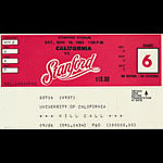 1983 Stanford vs Cal Big Game Football Ticket