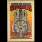 Firehouse Eric Clapton 2007 Crossroads Guitar Festival - With 2010 Crossroads Backprint Poster