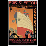 Ron Donovan - Firehouse Eric Clapton World Tour 2011 South America Poster