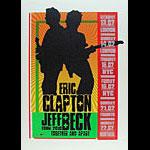 Ron Donovan - Firehouse Eric Clapton and Jeff Beck 2010 Tour Poster