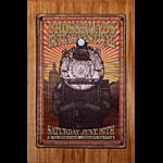 Firehouse Crossroads Guitar Festival 2010 Eric Clapton Poster
