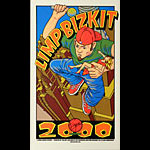 Chuck Sperry - Firehouse Limp Bizkit - Virgin Megastore Giveaway 2000 Poster