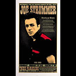 Chuck Sperry - Firehouse Joe Strummer Memorial Silkscreen Poster Poster