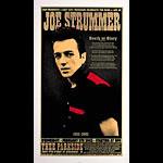 Chuck Sperry - Firehouse Joe Strummer Memorial Silkscreen Poster Poster
