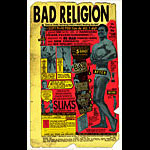 Firehouse Bad Religion 2003 Poster
