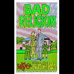 Chuck Sperry - Firehouse Bad Religion 1998 Poster