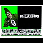 Firehouse Bad Religion Maritime Poster