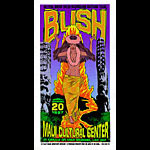 Chuck Sperry - Firehouse Bush Poster