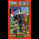 Chuck Sperry - Firehouse Demonics Black Wedding Poster