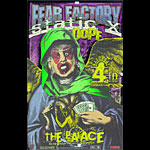 Firehouse Fear Factory Poster