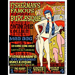 Chuck Sperry - Firehouse Fishermans Famous Burlesque Poster