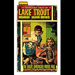 Firehouse Lake Trout Poster