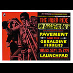 Firehouse Pavement Poster