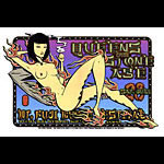 Alan Forbes and Firehouse Queens Of The Stone Age Mt Fuji Poster