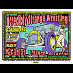 Chuck Sperry - Firehouse Incredibly Strange Wrestling Drive In Poster