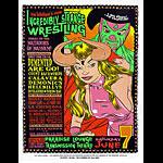 Chuck Sperry - Firehouse Incredibly Strange Wrestling Matador Poster