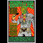 Chuck Sperry - Firehouse Incredibly Strange Wrestling NOFX Poster