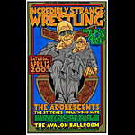 Chuck Sperry - Firehouse Incredibly Strange Wrestling Bush Poster