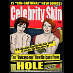 Firehouse - Chuck Sperry Hole Celebrity Skin Album Release Poster