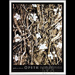 Alan Hynes Opeth Autographed Poster
