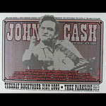 Firehouse Johnny Cash Tribute Silver Poster