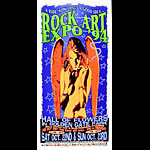 Public Domain (Psychic Sparkplug) Rock Art Expo '94 Poster