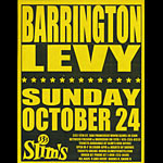 Barrington Levy Flyer