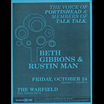 Beth Gibbons and Rustin Man Flyer