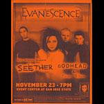 Evanescence Flyer