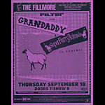 Grandaddy with Super Furry Animals Flyer