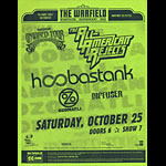 Hoobastank - Nokia Unwired Tour 2003 Flyer