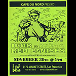 Igor and Red Elvises Flyer