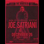 Joe Satriani Flyer