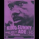 King Sunny Ade Flyer