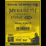 Megadeth - Blackmail the Universe Tour - The System Has Failed Album Release Flyer