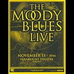 The Moody Blues Live Flyer