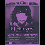 PJ Harvey Flyer
