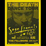 Sage Francis - The Death Dance Tour Flyer