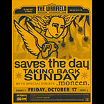 Saves the Day with Taking Back Sunday Flyer