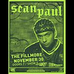 Sean Paul Flyer