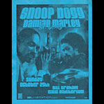 Snoop Dogg with Damian Marley Flyer